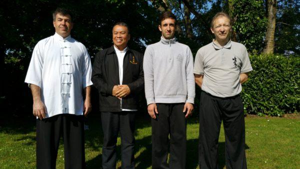 Stage intensif avec les Maîtres Lau Kung King et W. Nelson à Temple sur Lot.
