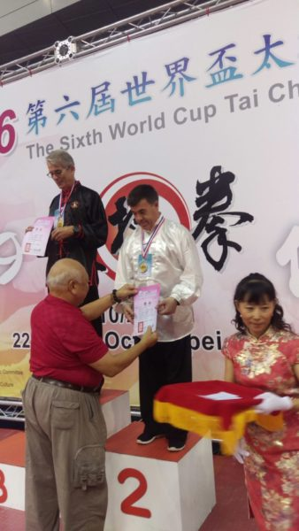 L'école Lishan sur le podium des championnats du Monde de Taïchi à Taiwan !
