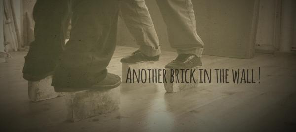 Lishan Taïchi… Petits jeux d'équilibre… sur briques !