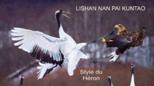 <p>Kuntao : Au programme des cours avancés : Forme et applications du Style du Héron</p>