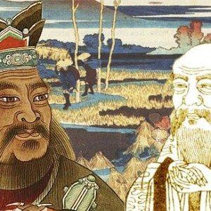 confucius-laotseu-paysage-estampe-chine-543po